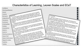 Characteristics of Effective Learning, Leuven Scales and ECaT
